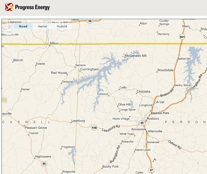 Welcome To HycoLakecom Roxboro NC - North carolina lakes map
